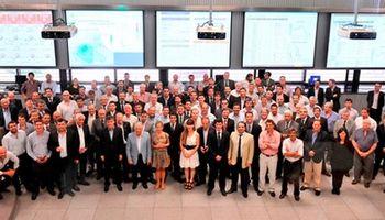 Meroi despidió el año con los operadores de los distintos mercados de la BCR