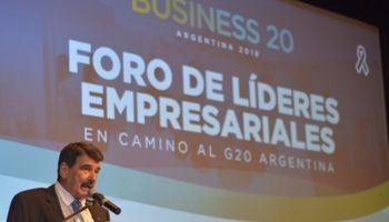 """Business 20: """"Argentina todavía está afuera de muchas alianzas"""""""