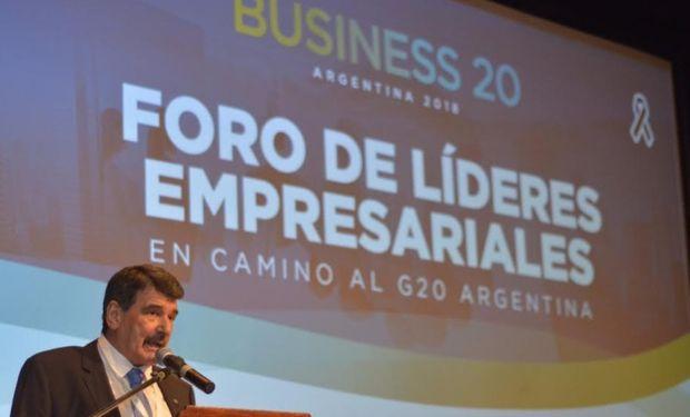 """La Bolsa de Comercio de Rosario fue sede del """"Foro Empresarial del Business 20 Argentina""""."""