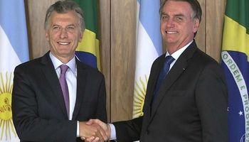Bolsonaro llegará a Argentina con una agenda centrada en el Mercosur