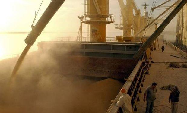 La exportación de granos en una actividad dominada por colosos globales como Cargill, Bunge y Dreyfus.
