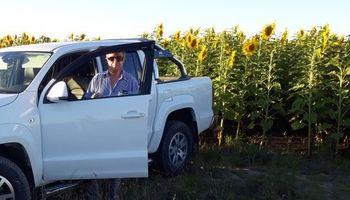 Girasol: la experiencia de un productor del NEA que le ganó a la sequía