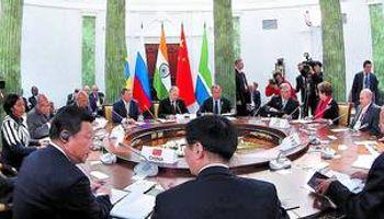 El grupo BRICS anuncia la creación de su propio banco