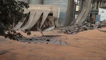 """Derrumbe en Bunge: """"Se trabajó hace un tiempo en ese silo"""""""