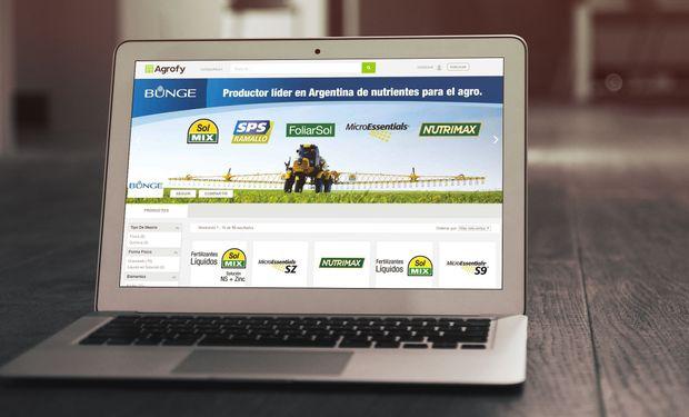 Bunge apuesta a la innovación tecnológica con su nuevo canal de ventas online.