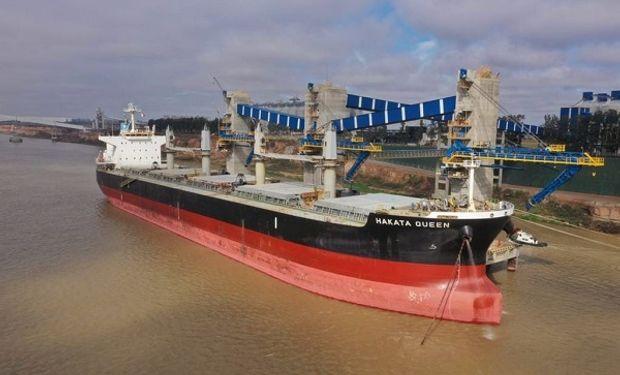 Se sumó un nuevo puerto: amarró el primer buque en la terminal portuaria de ACA