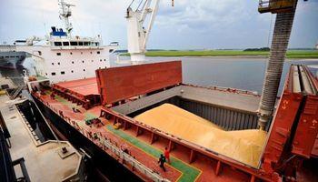 El paro de los marítimos golpea al transporte de granos