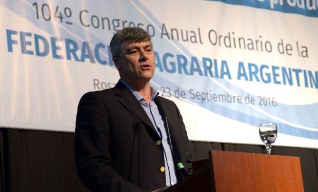 Ministro de Agroindustria de la Nación, Ricardo Buryaile.