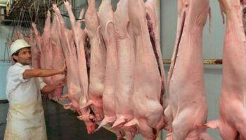 Cadena porcina: frigoríficos deberán realizar un pago a cuenta de IVA para faenar