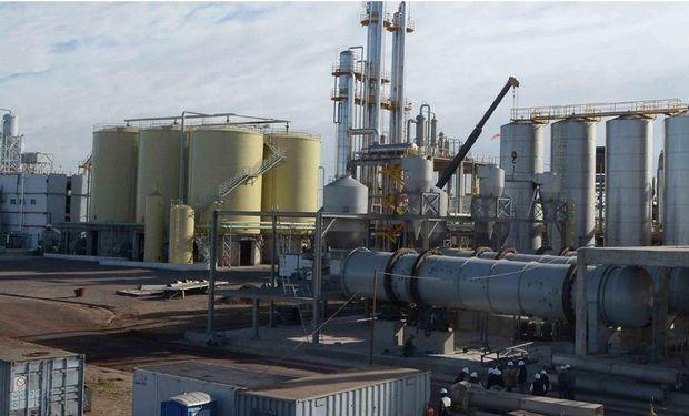 La primera. Bio 4, en Río Cuarto, fue la primera en comenzar a producir etanol, en septiembre de 2012 (La Voz/Archivo)