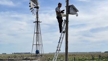 Sin electricidad ni internet: así funciona el sistema 100% autónomo para seguridad en el campo