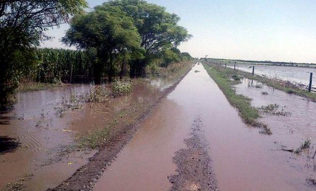 Estado intransitable de los caminos rurales.