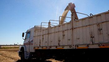 Córdoba: secuestraron un camión con 4 toneladas de soja por falta de documentación