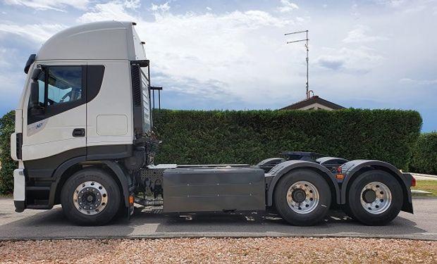 Una empresa argentina adquirió 100 camiones a GNC: es la mayor venta de este tipo de vehículos en América del Sur