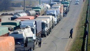 Reclamo de camioneros complica el tránsito en la provincia
