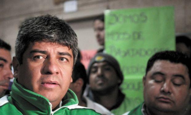 Secretario adjunto del gremio de los Camioneros, Pablo Moyano.