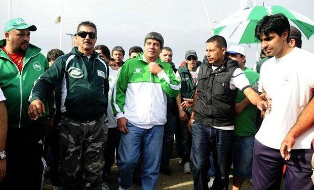 Pablo Moyano, hijo y número dos de Hugo en la organización gremial, comunicó ayer la convocatoria a la protesta.