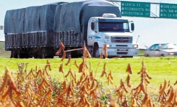 Cae el transporte de granos a chile