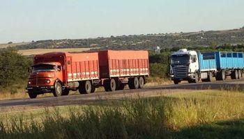 """A pesar del paro, camioneros aseguran que el """"transporte de granos es normal"""""""