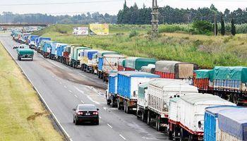 Se cosecha una congestión de camiones