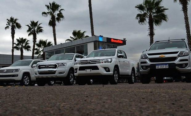 En 2018 se exportaron más de 6.000 vehículos pick-ups.