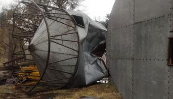 Saladillo: destrozos en el campo luego de la fuerte tormenta