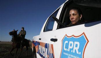 La jefa de una patrulla rural que no da tregua a los cuatreros
