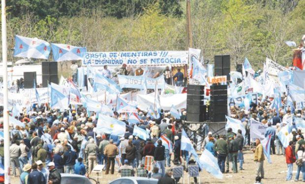 """Luis Etchevehere, afirmó que la protesta será """"contundente""""."""