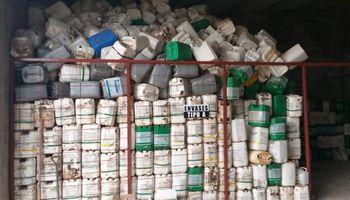 En 2020 se recuperaron más de un millón de kilos de plástico de envases vacíos de fitosanitarios