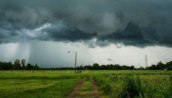 El Servicio Meteorológico Nacional alertó por tormentas fuertes y lluvias intensas