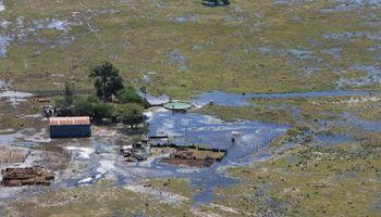 De las 13,6 millones de hectáreas de superficie de Santa Fe, más de la mitad está bajo agua