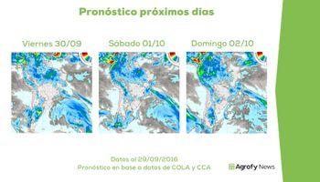 ¿Serán suficientes las precipitaciones pronosticadas?