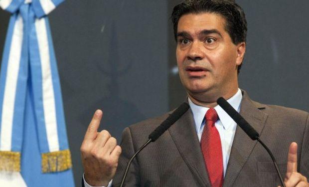 Capitanich pidió a la Rural que se presente a elecciones