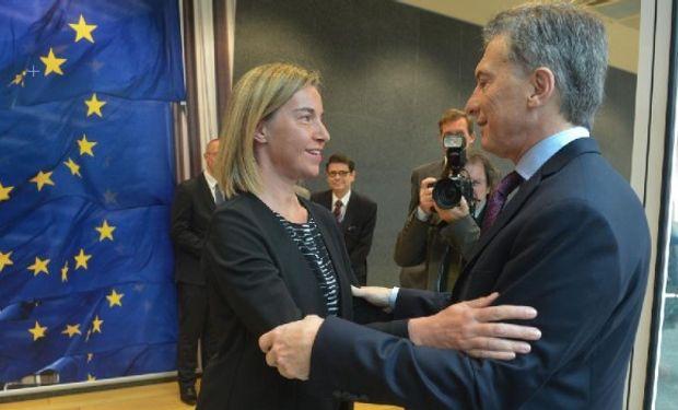 """Macri reconoció que la agricultura es """"el punto de conflicto""""."""