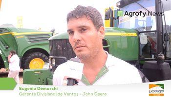 John Deere refuerza su compromiso con el campo argentino en Expoagro