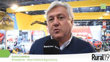 New Holland ve a la Argentina como un jugador importante en la agricultura mundial