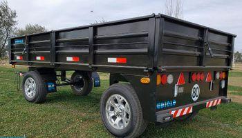 Lanzan un acoplado de carga homologado ideal para pick ups