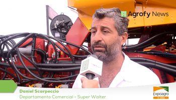 Super Walter presente en Expoagro con su sembradora Air Drill