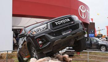 Toyota llevó a Expoagro 2020 su apuesta por la tecnología híbrida