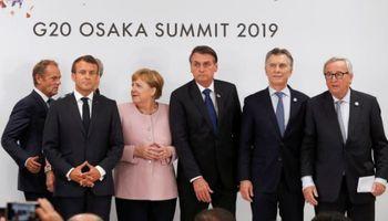 Macri celebró en el marco del G20 el acuerdo del Mercosur con la Unión Europea