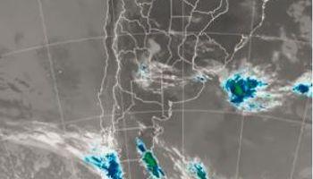 Rige alerta del SMN por tormentas fuertes en casi toda la región central