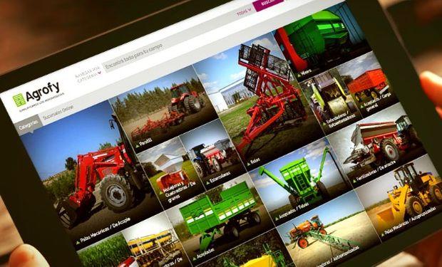 La maquinaria agrícola despega en Agrofy.