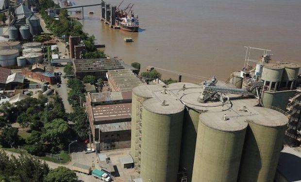 Paro de aceiteros en Cargill Punta Alvear.