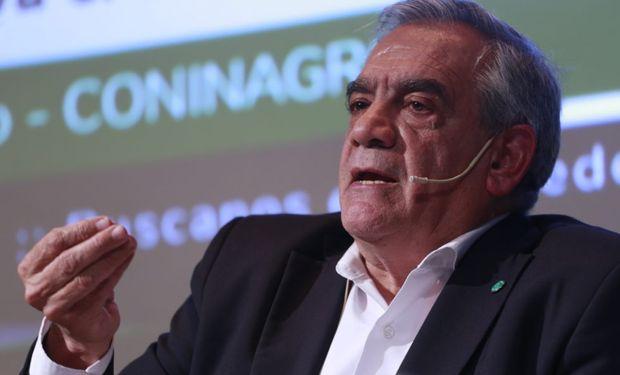 Carlos Iannizzotto, presidente Coninagro.