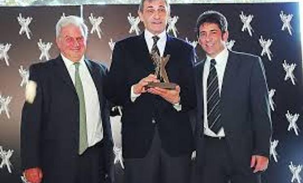 """Castellani fue premiado por su """"compromiso"""" empresarial"""