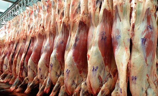 Carne argentina de exportación.