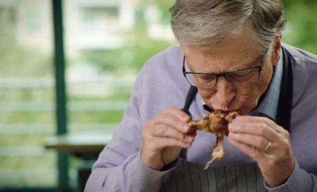 """""""¡Llámenlo como quieran, pero no es carne!"""": mientras lo invitan a comer un asado, uruguayos responden a Bill Gates"""