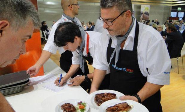 La participación del Instituto de Promoción de la Carne Vacuna (IPCVA) fue la más destacada en el pabellón de carnes.