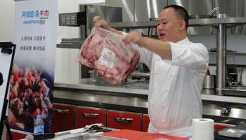 Sigue la promoción de la carne vacuna argentina en China
