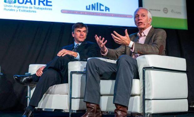 Horacio Reyser y Guillermo Bernaudo analizaron el valor del acuerdo Mercosur-Unión Europea en La Rural.